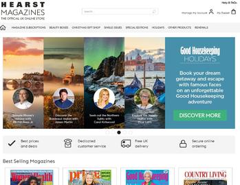 Hearst Magazines UK Cashback