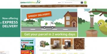 Garden Wildlife Direct 現金回饋