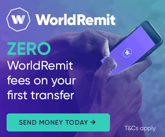 World Remit Cashback